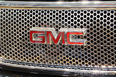 Gmc logo Editorial Stock Image