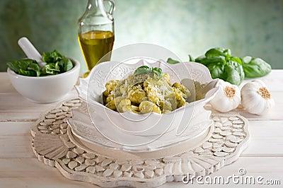 Gnocchi van Pesto