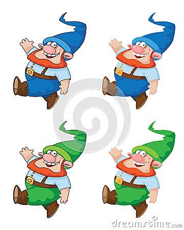 Gnome de marche