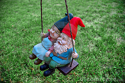Gnomes - Male in front