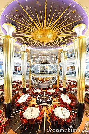 Gość restauracji restauraci stoły Obraz Editorial