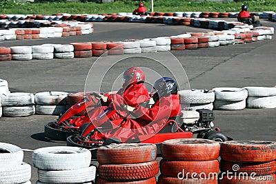 Go cart race