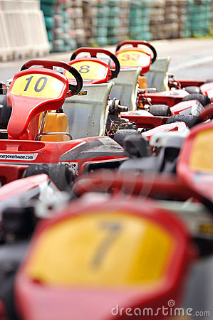 Free Go-carts Stock Images - 10244124