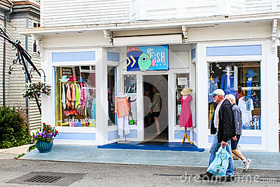 Go fish commercial street provincetown ma editorial for Go fish store