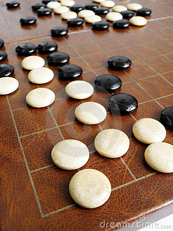 Go game or Weiqi - ancient chinese chess game