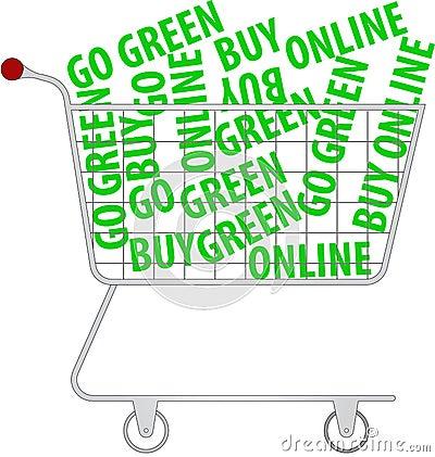 Go green - buy online
