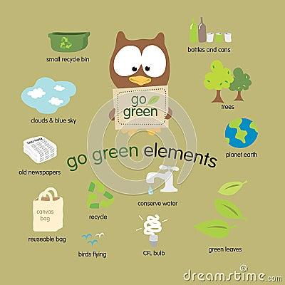 Go Green Elements Set