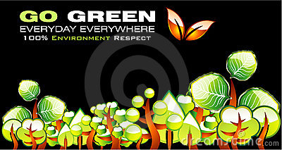 Go Green Environment Card