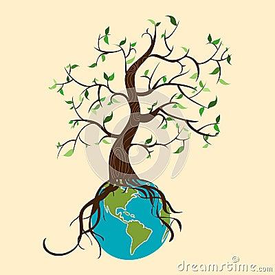 Go green tree world