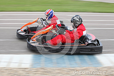 Go-kart Editorial Image