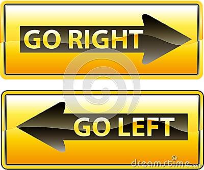 Go Right Royalty Free Stock Photos - Image: 5578388