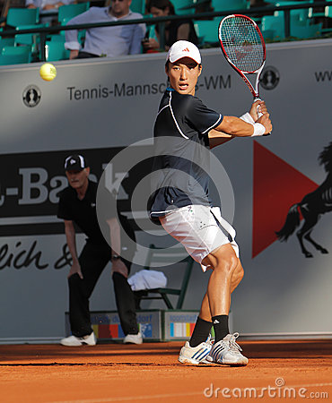 Go Soeda, Tennis  2012 Editorial Stock Photo