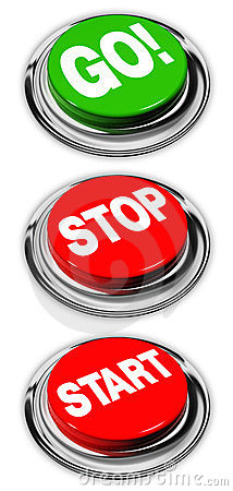 Free Go, Stop And Start Buttons Royalty Free Stock Images - 23489239