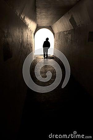 Free Go Towards The Light Stock Image - 8191321