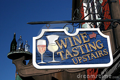 Go Up for Wine Tasting