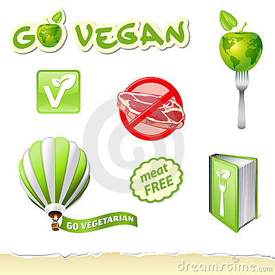 Go vegetarian set
