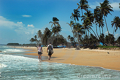 Goa Beaches in India Editorial Stock Image