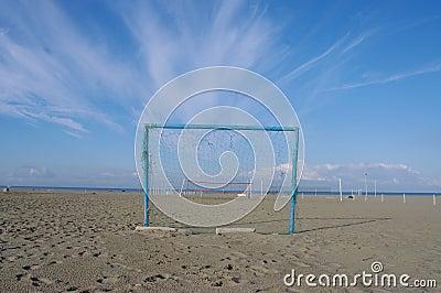 Goal beach summer