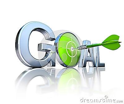 Goal and dart