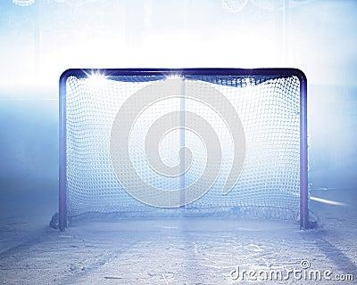Goal ice-hockey