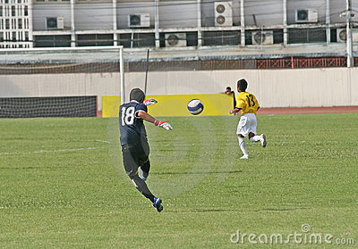 Goal Kick Stock Photos - Image: 2262923