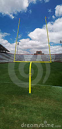 Free Goal Post 2 Royalty Free Stock Photography - 6050587