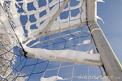 Goal in the winter