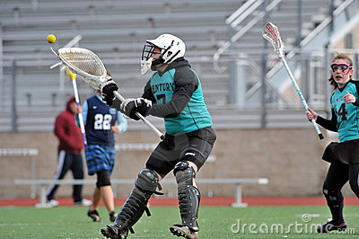 Goalie 38 saves Editorial Photography