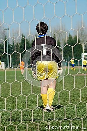 Free Goalkeeper Royalty Free Stock Image - 4746106
