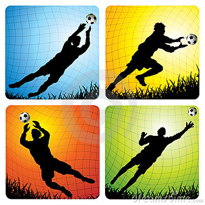 Free Goalkeepers Stock Photography - 13388572