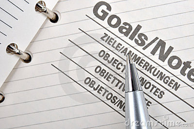 Goals and note