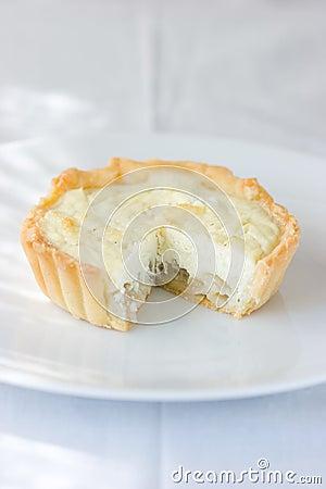 Free Goat Cheese Tart Royalty Free Stock Photos - 2353058