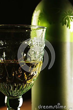 Goblet Golden Wine