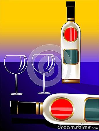 Goblet of wine
