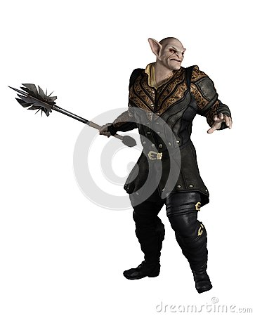 Goblin Prince with Mace