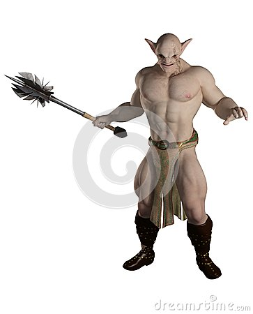 Goblin Warrior with Mace