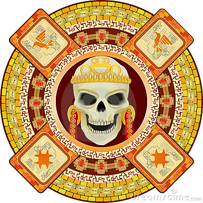 God of death of Aztecs