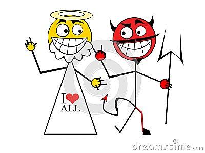 God with Devil
