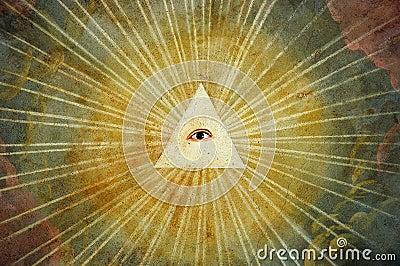 God eye painting