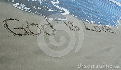 God Is Love Sand