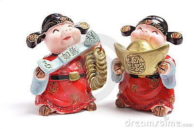 God of Wealth Figurines