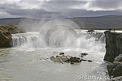 Godafoss, Iceland.