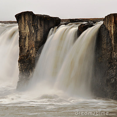 Godafoss waterfall, Iceland