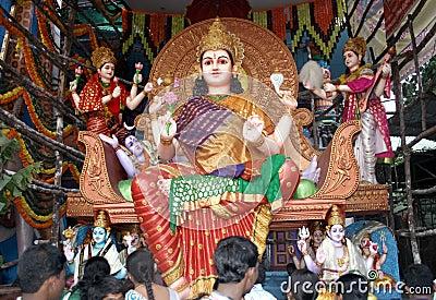 Goddess Parvati Editorial Image
