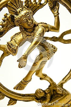 Goddess Shiva stance