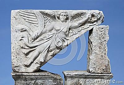 The goddess of victory (Nika)