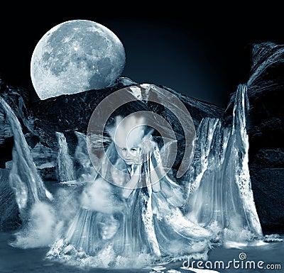 Goddess of water