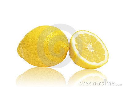 Goden one and a half lemons