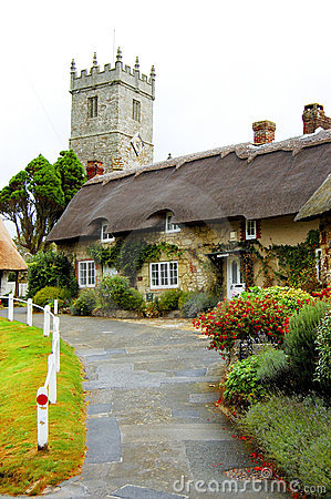 Godshill Church and cottages