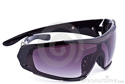 Goggles for the skiing, isolated